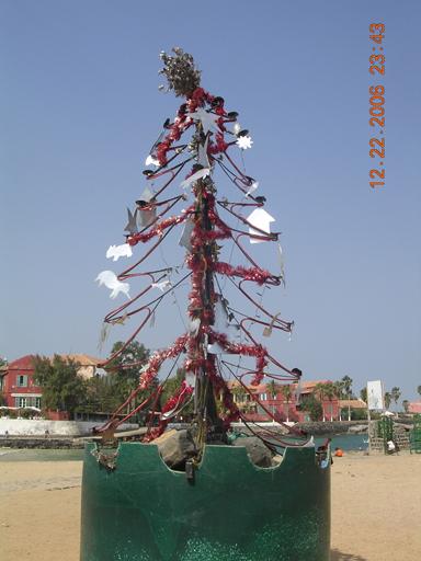 Christmas on Ile de Gorée