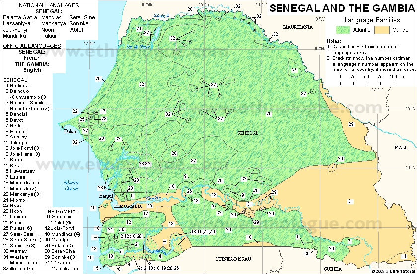 Languages of Senegal and The Gambia