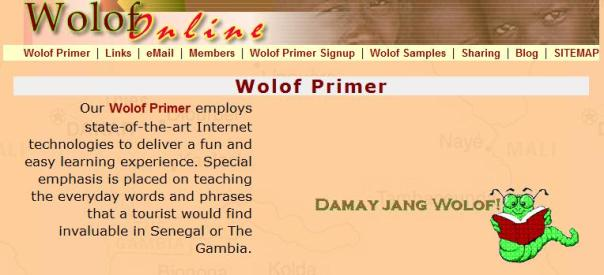 Wolof Primer